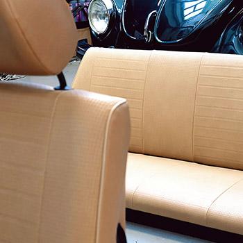 Sitzbezüge für Käfer Cabrio, Gazelle