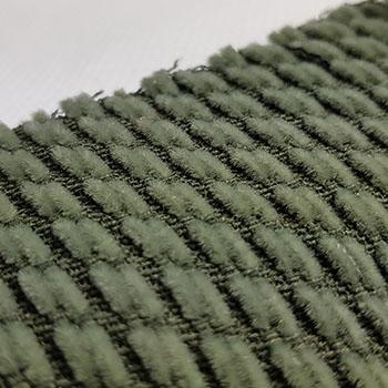 Bezugstoff Diagonalstreifen piniengrün