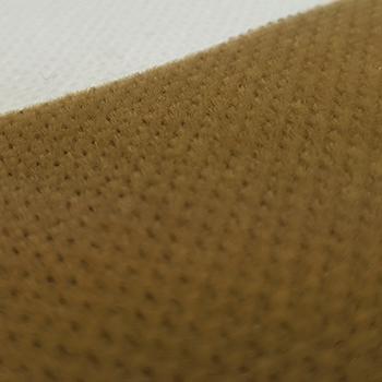 Bezugstoff Velour-Uni beige-sand