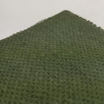 Bezugstoff Velour-Uni piniengrün