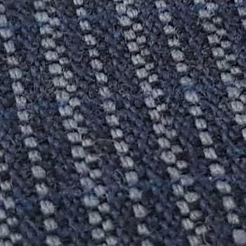 Bezugstoff Streifenkaro blau (Code052)