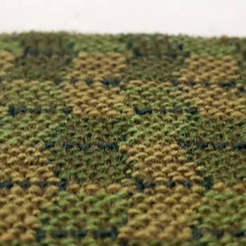 Bezugstoff Rhombe moos-grün (Code006)