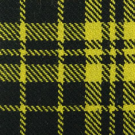 Bezugstoff Schottenkaro gelb 914