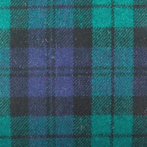 Bezugstoff Schottenkaro grün