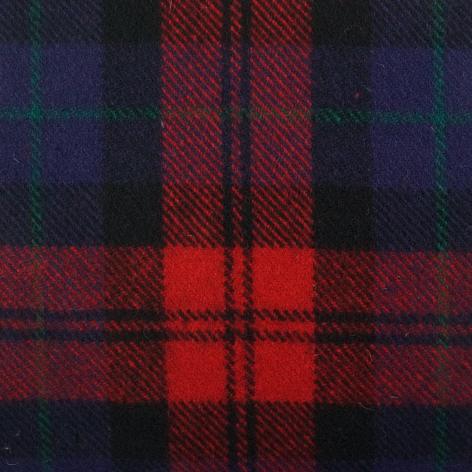 Bezugstoff Schottenkaro rot