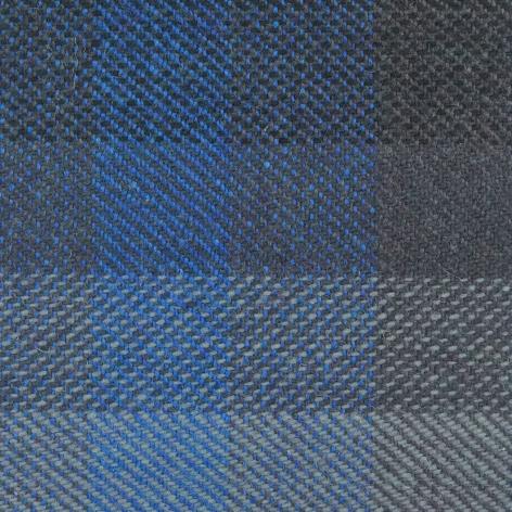 Bezugstoff Multicolor blau