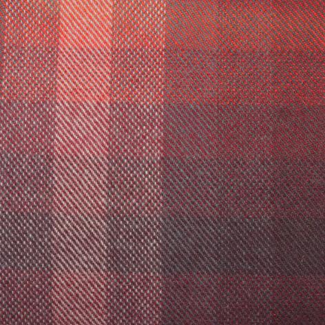 Bezugstoff Multicolor rot