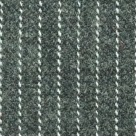 Bezugstoff Flanell Nadelstreifen dunkelgrau