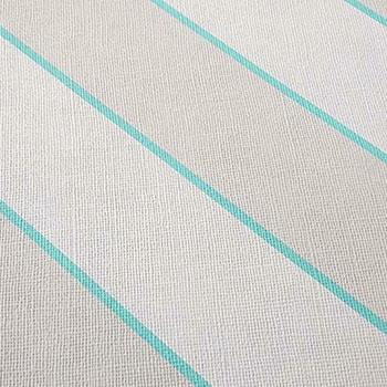 Kunstleder grau mit Diagonalstreifen