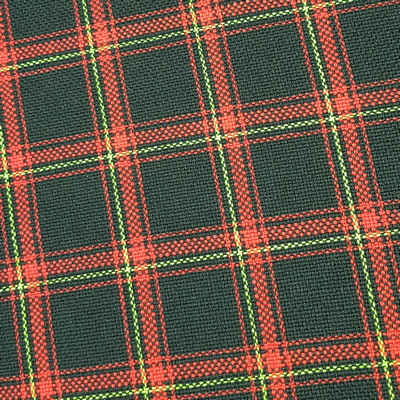 Schottenkaro Stoff rot für Ur-Gti