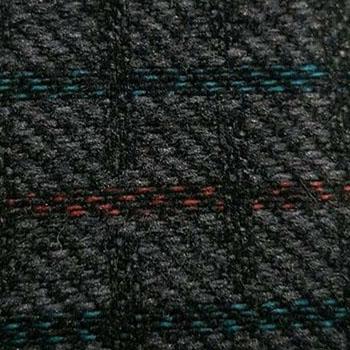 Multicolor-Kleinkaro schwarz-rot
