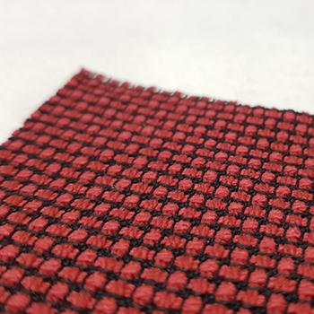 Bezugsstoff Käfer Struktur-rot