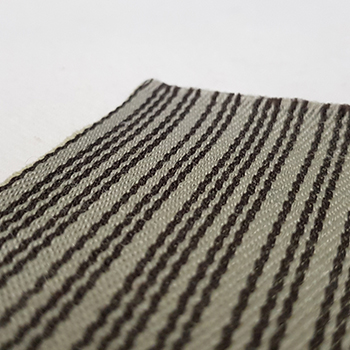 Bezugsstoff Käfer Streifen grau/beige