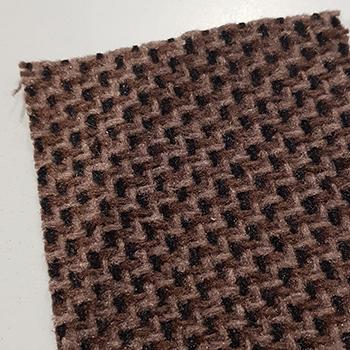 Tweed Stoff VW dunkelbeige/braun